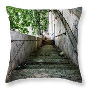 Tiber Steps Throw Pillow