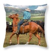 Tight Turn Throw Pillow