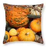 Time For Fall Throw Pillow