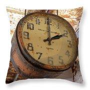 Time Stood Still 2 Throw Pillow