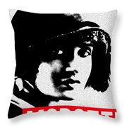 Tina Modotti Throw Pillow by MB Dallocchio