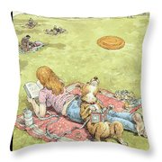 To Fetch Or Not To Fetch Throw Pillow