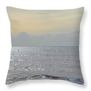 To See The Sea Throw Pillow