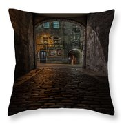 Tolbooth Tavern Throw Pillow