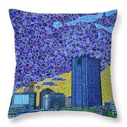 Toledo, Ohio Throw Pillow