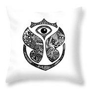 Tomrrowland Throw Pillow