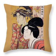 Top Quality Art - Bamboo Blind Throw Pillow