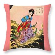 Top Quality Art - Jyoga Hongetsu Throw Pillow
