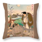 Top Quality Art - Matsuo Basho Throw Pillow