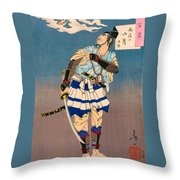 Top Quality Art - Soga Brother Vengeance Throw Pillow