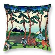 Top Quality Art - Tokaido Hodogaya Throw Pillow