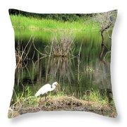 Total Nature Throw Pillow