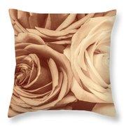 Touching Harmony Throw Pillow