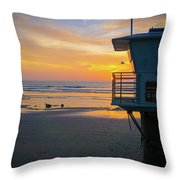 Tower 19, Office With A View Throw Pillow