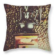 Traditional Cafe Throw Pillow