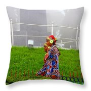 Traditional Look Throw Pillow