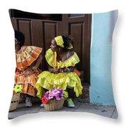 Traditional Meets Modern Throw Pillow