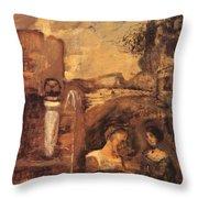 Transcience 1912 Throw Pillow