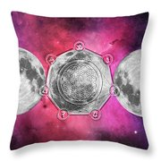 Transformation Throw Pillow by Bee-Bee Deigner
