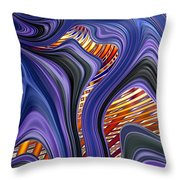 Transfusion Throw Pillow