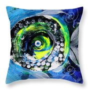 Transsexual Echo Fish Throw Pillow