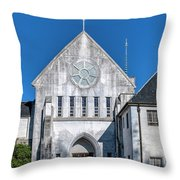 Trappist Monastery Of The Holy Spirit  Throw Pillow
