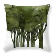 Tree Impressions 1b Throw Pillow
