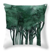 Tree Impressions 1d Throw Pillow