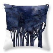 Tree Impressions 1f Throw Pillow