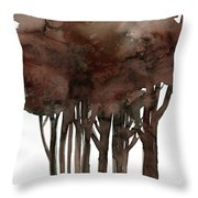 Tree Impressions No. 1 Throw Pillow