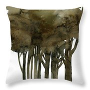 Tree Impressions No. 1a Throw Pillow