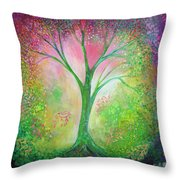 Tree Of Tranquility Throw Pillow