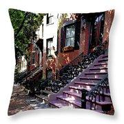 Tremont Street Boston Throw Pillow