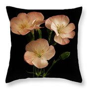 Trio In Pink Throw Pillow
