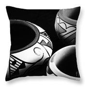 Triple Set Throw Pillow