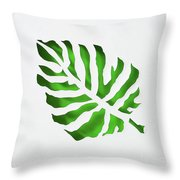 Tropical Throw Pillow by Phyllis Howard