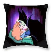 True Love's Kiss Throw Pillow