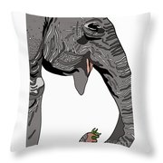 Trunk King Throw Pillow