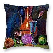 Tulip In Still Life Throw Pillow