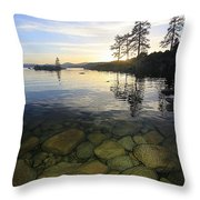 Twilight Immersion Throw Pillow