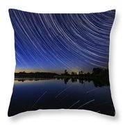 Twilight's End Throw Pillow