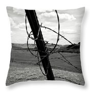 Twisted Throw Pillow by Carl Young