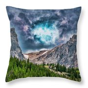 Two Billion Years In The Making Throw Pillow