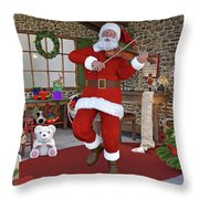 Two Nights Before Christmas Throw Pillow