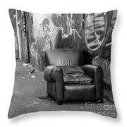 U Street Chair Washington Dc Throw Pillow