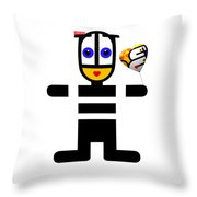 uBABE Love Balloon Throw Pillow