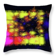 Uncaged And Unafraid - Breaking The Gridlock Of Hate Number 3 Throw Pillow