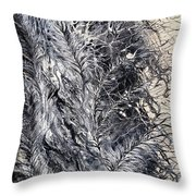 Under His Wing Throw Pillow