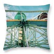 Under The Ferris Wheel Throw Pillow