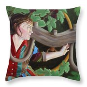 Unequally Yoked Throw Pillow